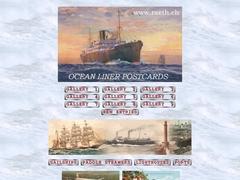 Postcards Ocean Liners