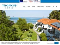 Miramare - Ξενοδοχείο 2 * - Νέος Μαρμαράς - Σιθωνία - Χαλκιδική