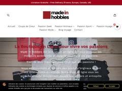 Made In Hobbies - La boutique en ligne de vos passions