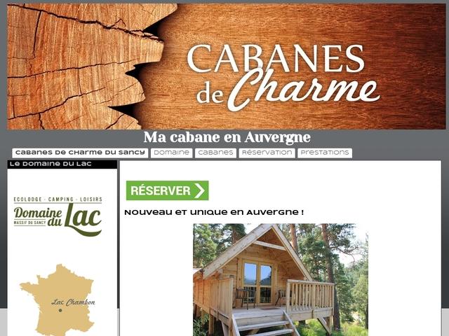 Ma cabane en Auvergne Murol Puy-de-Dôme