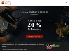 Comida Internacional - Restaurante Casa Ávila