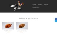 Restaurante Pollos - Rosticerías Santo Gallo