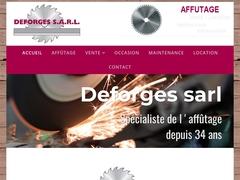 Deforges-sarl -(36) - Affûtage O.C - Maintenance - Ventes