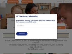 Liitcare Connecting childcare providers with parents