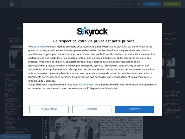Blog Skyrock de KrazRap