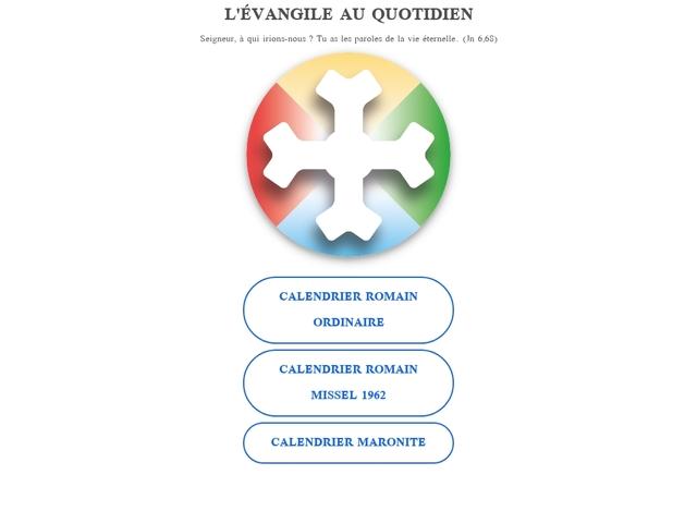Evangile au quotidien