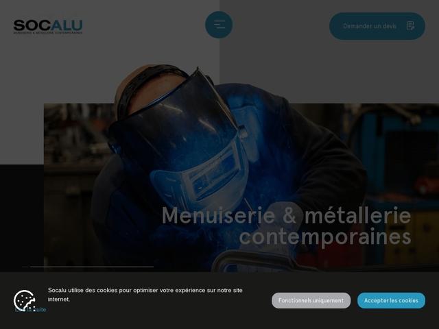 Socalu Sarl - (68) - Métallerie Contemp - Menuiserie Alu