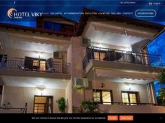Vicky - Ξενοδοχείο 2 * - Σάρτη - Σιθωνία - Χαλκιδική