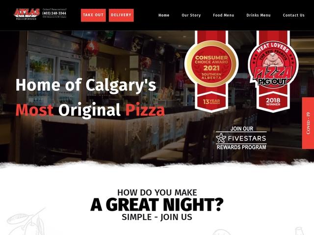 Atlas Pizza And Sports Bar Calgary