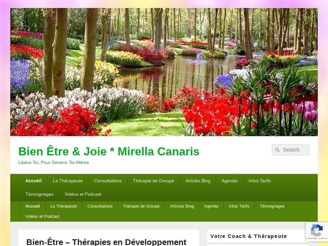 Bien-être & Joie - Mirella Canaris