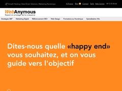 Webanymous votre agence de creation de site internet