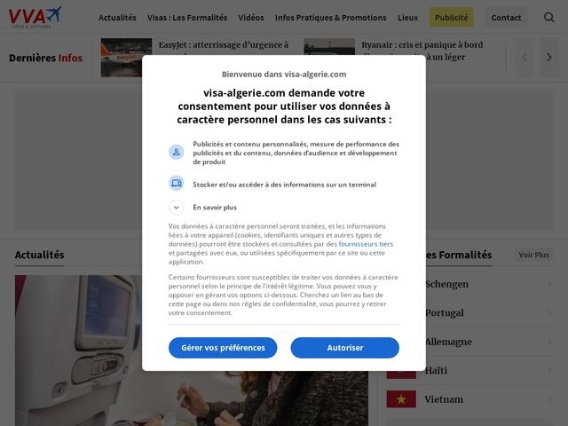Visas Voyages Algérie