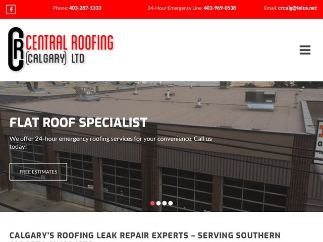 Roofing Leak Repair Calgary | Central Roofing (Calgary) Ltd