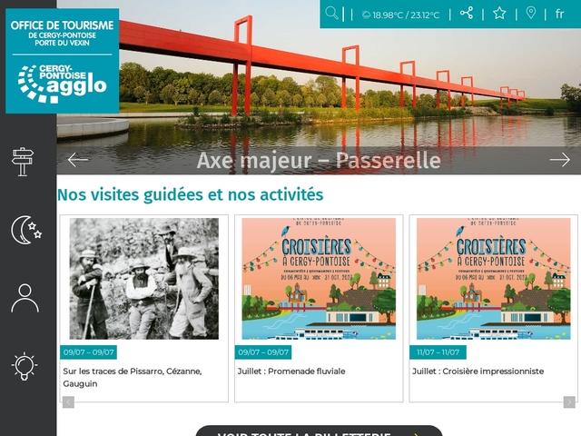 Bienvenue - Office de tourisme de Cergy Pontoise