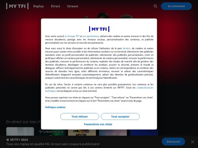 MYTF1 VOD - des milliers de films et séries en vidéo à la demande