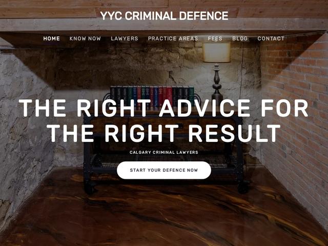 YYC Criminal Defence