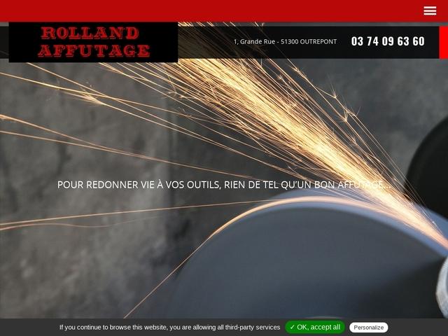 Rolland-Affûtage - (51) - Affûtage Outils Tranchants