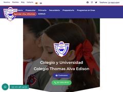 Colegios Escuelas - Colegio Thomas Alva Edison TAE