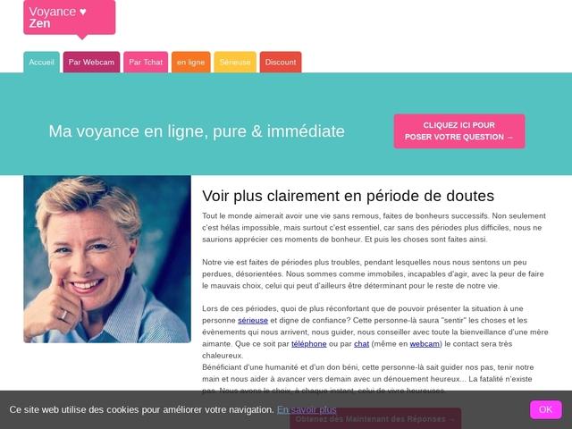 VoyanceZen : voyance sérieuse et directe par webcam