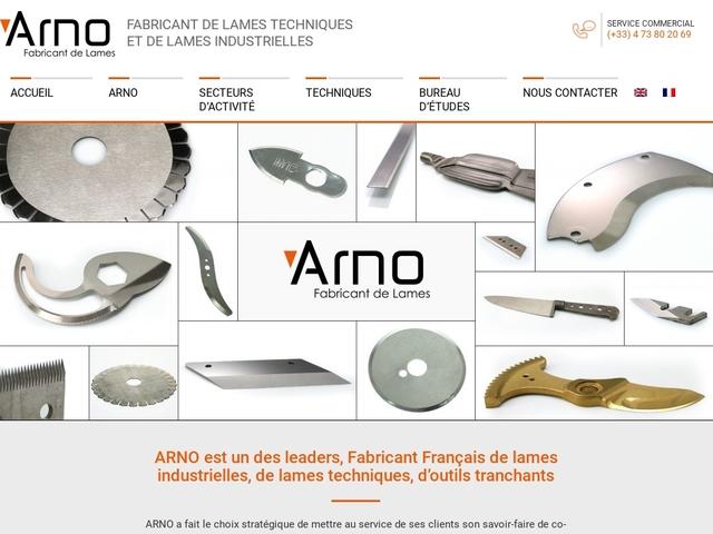 Arno-sas - (63) - B.E Tech - Fabricant lames (Industr-Tech)