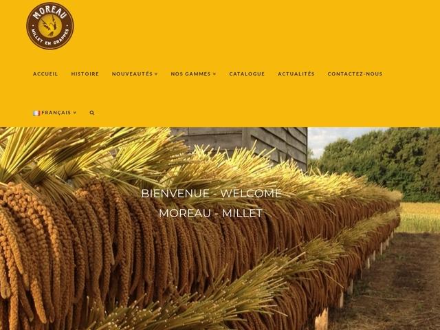 Moreau - Millet en grappes