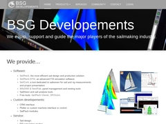 Sail Design Software, Sail Analysis Software, BSG Développements