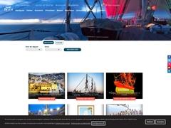 Le site officiel du trois-mâts Belem