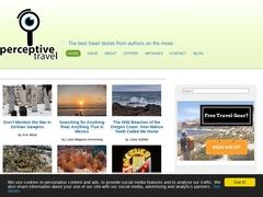 Perceptive Travel Web Magazine