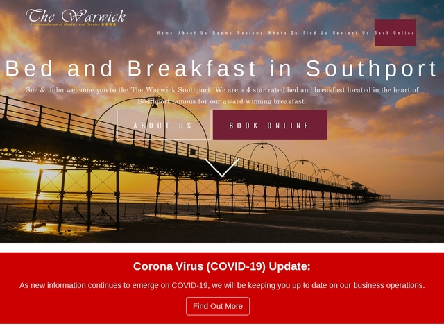 The Warwick - Bed and Breakfast - Southport