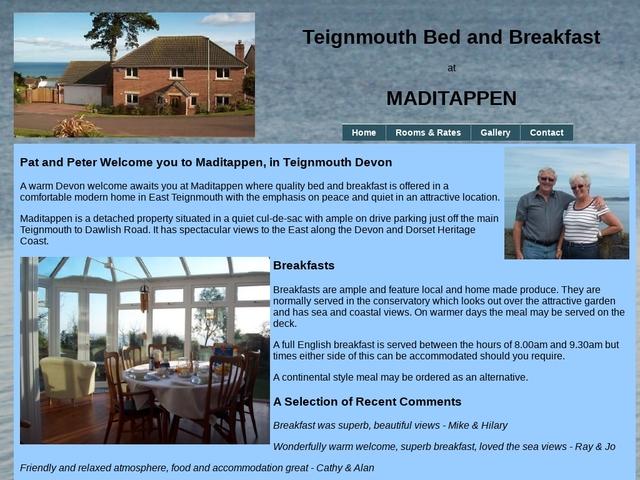 Maditappen - Teignmouth - Devon - 01626 772744