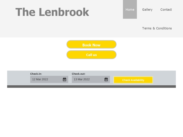 The Lenbrook - Blackpool - Lancashire - England.