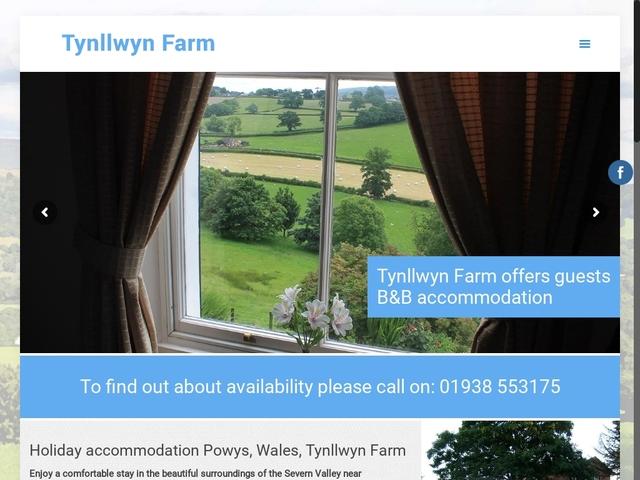 TYNLLWYN FARM, WELSHPOOL, POWYS, SY21 9BW.