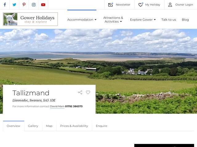 Tallizmand - Llanmadoc - Swansea - West Glamorgan.
