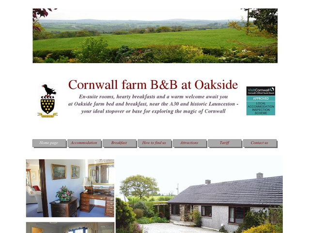 Oakside Farm Bungalow B&B - 01566 86733