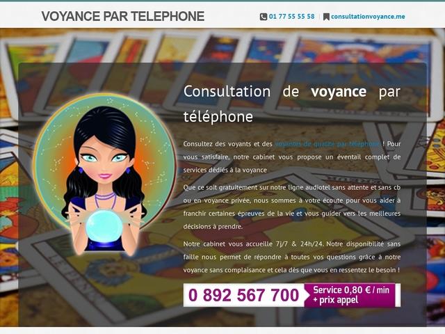Détails : Consultation de voyance par téléphone de qualité