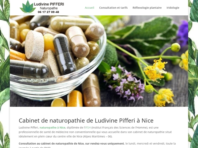 Détails : Cabinet de naturopathie sur Nice Centre