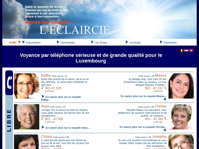 Voyance par téléphone au Luxembourg