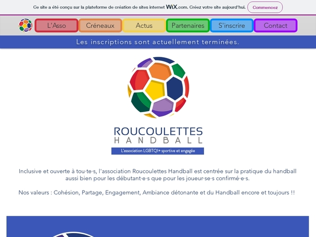 Roucoulettes Handball