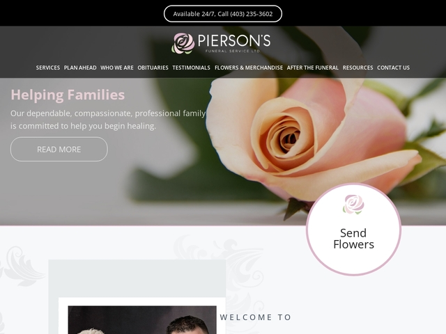 Calgary, AB Funeral Home & Cremation | Pierson's Funeral Service Ltd.