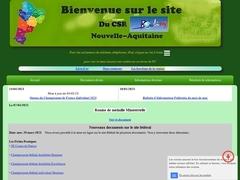 CSR Nouvelle Aquitaine