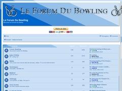 Le forum du bowling