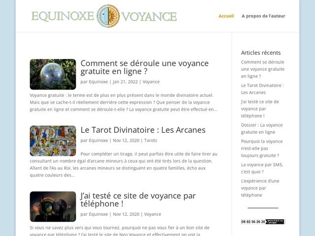 Détails : Blog Voyance - Equinoxe