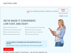 Canadian Legal Wills - LastWillPro.com