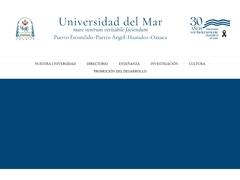 Universidades - Universidad del Mar UMAR