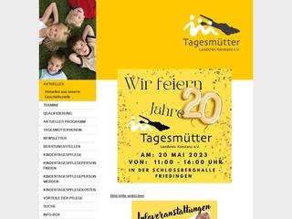Vorschaubild der Webseite von Tagesmütterverein Landkreis Konstanz e.V.