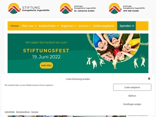 Vorschaubild der Webseite Kindertagesstätte Storchennest
