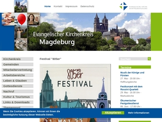 Vorschaubild der Webseite Evang. Kindertagesstätte St. Michael