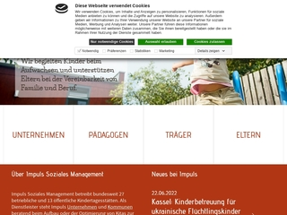 Vorschaubild der Webseite Kindertagesstätte Solkids