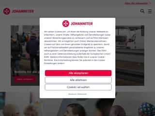Vorschaubild der Webseite Johanniter Fahrdienst Dresden