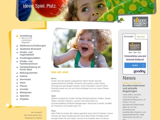 Vorschaubild der Webseite von Kinder- und Jugendtreff Euba